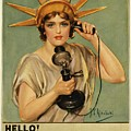 Hello This Is Liberty Speaking 1918 by Movie Poster Prints