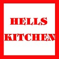Hells Kitchen Red by Florene Welebny