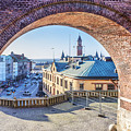 Helsingborg Through The Archway by Antony McAulay