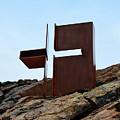Helsinki Rock Church Cross by Catherine Sherman