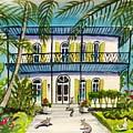 Hemingway's Home Key West by Maggii Sarfaty