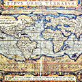 Hemisphere World  by Ancient Map