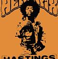 Hendrix 1967 by Andrea Mazzocchetti