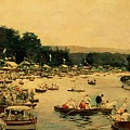 Henley Regatta by James Jacques Joseph Tissot