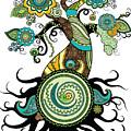 Henna Tree Of Life by Serena King