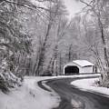 Henningers Farm Covered Bridge by Lori Deiter