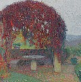 Henri Jean Guillaume Martin 1860 - 1943 The Bower Flowers by Adam Asar