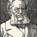 Henrik Ibsen, Norwegian Playwright by Wellcome Images