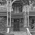 Henry B. Plant Museum Entry Bw by HH Photography of Florida