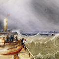 Henry Barlow Carter 1795-1867 Loss Of The Scarborough Lifeboat 24 May 1836 by Adam Asar