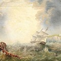 Henry Redmore Running Up The Coast In Heavy Seas, 1856 by Adam Asar