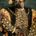 Henry Viii As A Mastiff by Galen Hazelhofer