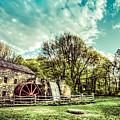 Henry Wadsworth Longfellow's Wayside Inn Gristmill, Sudbury, Massachusetts by James Wellman