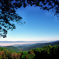 Hensley Hollow Overlook by Thomas R Fletcher