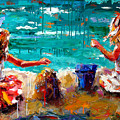 Her Blue Bucket by Debra Hurd
