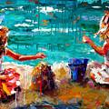 Her Blue Bucket by Debra Hurd