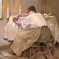 Her First Born 1888 by Reid Robert Lewis