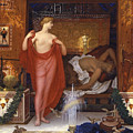 Hera In The House Of Hephaistos by William Blake Richmond