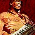 Herbie Hancock Rockit by David Lloyd Glover