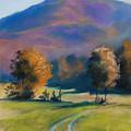 Herbstfarben Bei Aschau by Johannes Baul