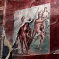 Herculaneum Fresco by Erik Falkensteen