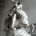 Hercules Beating The Centaur Nessus by Gregory Dyer
