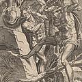 Hercules Killing Cacus by Dirck Volckertz Coornhert