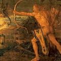 Hercules Kills The Symphalic Bird 1520 by Durer Albrecht