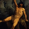 Hercules On The Pyre 1617 by Reni Guido