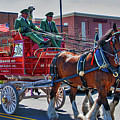 Here Comes The King-budweiser Clydesdales by Neil Doren