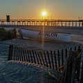 Here Comes The Sun - Avalon New Jersey by Bill Cannon