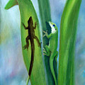 Here Lizard Lizard by Darlene Green