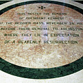 Here Rested The Remains Of President Kennedy by Cora Wandel