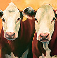 Herefords by Toni Grote