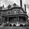 Heritage Hill Mansion In Black And White by Kirt Tisdale