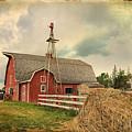 Heritage Village Barn by Teresa Zieba