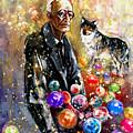 Hermann Hesse by Miki De Goodaboom