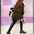 Hermann Scherrer Sporting Tailor - Munich, Germany - Vintage Advertising Poster by Studio Grafiikka