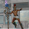 Hermes Messenger To The Gods by Corey Ford