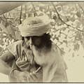 Hermit By The Ganges by Kedar Munshi