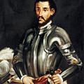 Hernando De Soto by Granger