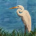 Heron by Donald Paczynski