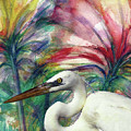 Heron Flair by Francelle Theriot