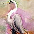 Heron Serenity by Lil Taylor