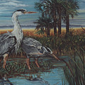 Herons by Diann Baggett