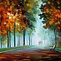 Heros From The Fog by Leonid Afremov