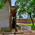 Herr's Mill And Covered Bridge 2 by Lisa Wooten