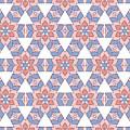 Hexagonal Flower Pattern by Jozef Jankola