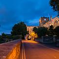 Hexham Abbey At Night by David Head