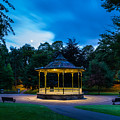 Hexham Bandstand At Night by David Head